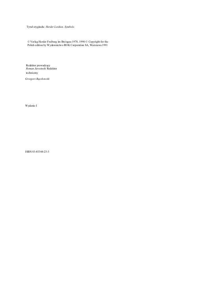 Leksykon Symboli   1000 Haseĺ'[1] Slide 2