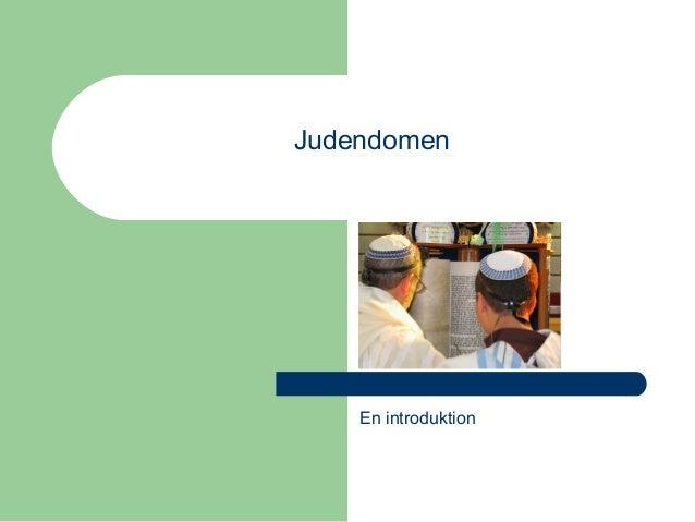 En introduktion Judendomen