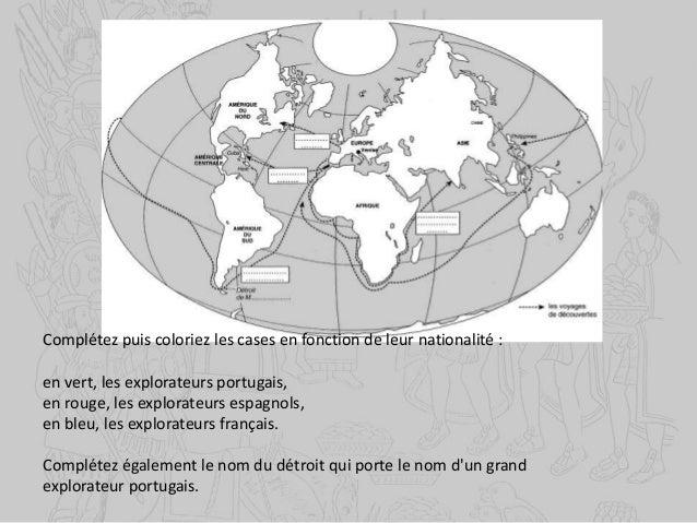 les techniques permettant les grandes découvertes Caravelle d'après un manuscrit portugais du XVe siècle Au cours du XVème...