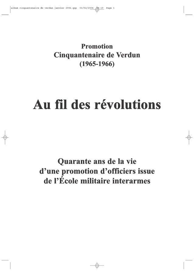Le livre de notre promotion page 1 à 211