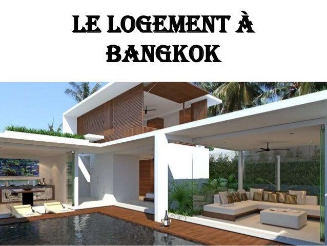 Le logement à Bangkok