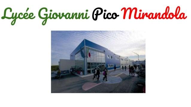 Lycée Giovanni Pico Mirandola