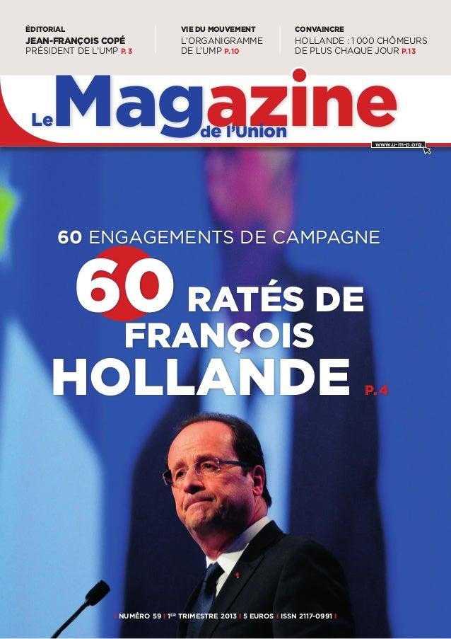 ÉDITORIAL                            VIE DU MOUVEMENT               CONVAINCREJEAN-FRANÇOIS COPÉ                   L'ORGAN...