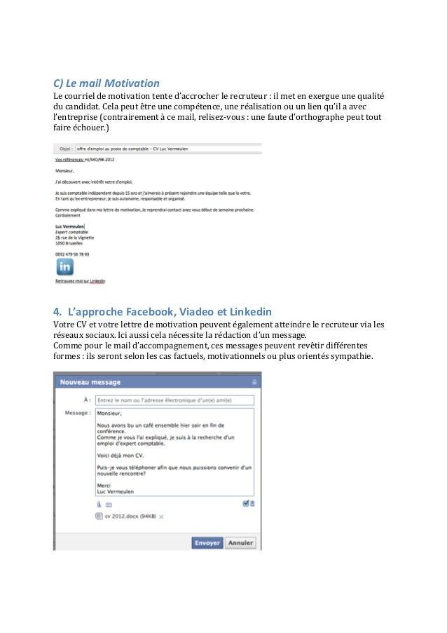 le mail d u2019accompagnement - un emploi en 2017