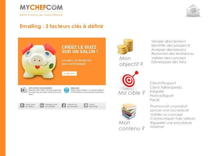 Emailing : 3 facteurs clés à définir                                                    Vendre directement                ...