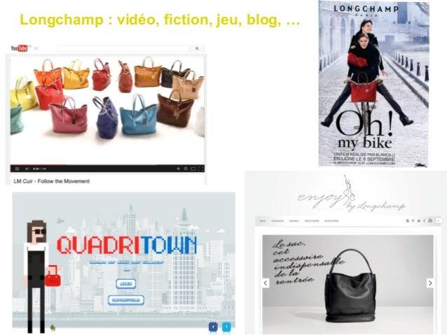 Longchamp : vidéo, fiction, jeu, blog, …