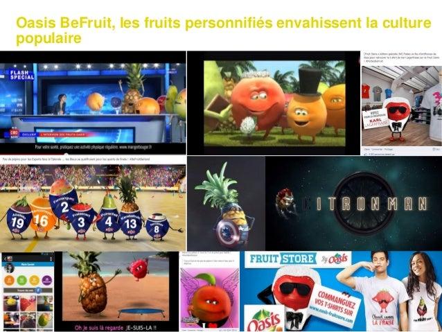 Oasis BeFruit, les fruits personnifiés envahissent la culture populaire 54