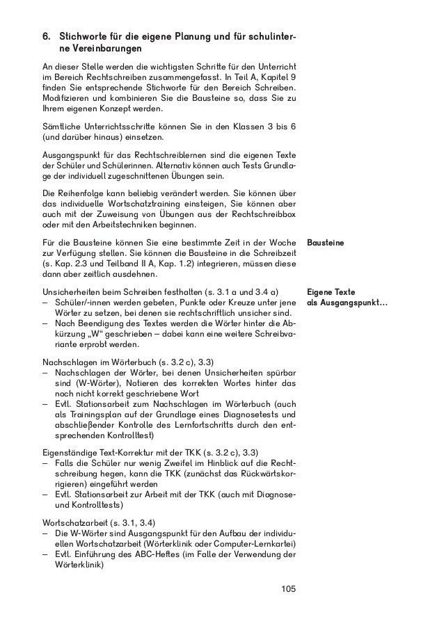 Beate Leßmann: Individuelle Lernwege im Schreiben und Rechtschreiben …