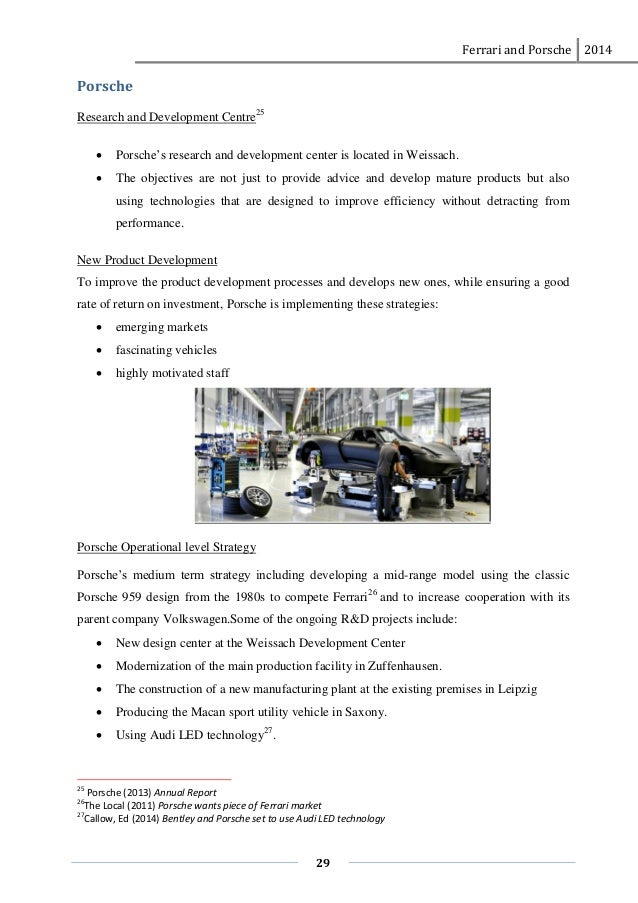 porsche analysis Case analysis 1: hightone electronics, inc identification information: this case analysis is from chapter 1 of our text book, operations management.