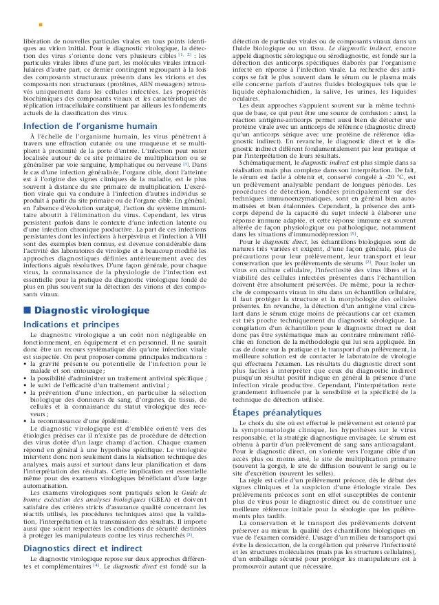 Le manuel du g n raliste 2 maladies infectieuses et virales for Fenetre serologique