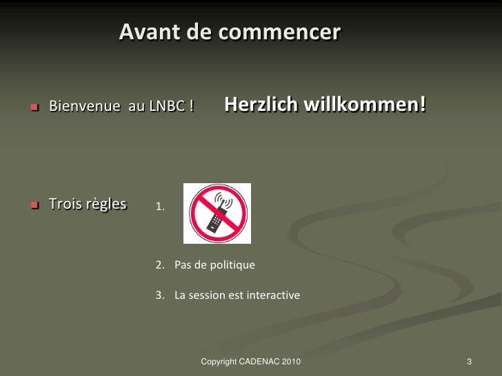 Le marché ALLEMAND_presentation 2010 Slide 3