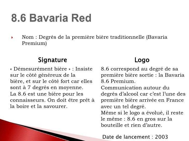 Stratégie des marques<br />LeffeRuby<br />Desperados Red<br />Bavaria 8.6 Red<br />
