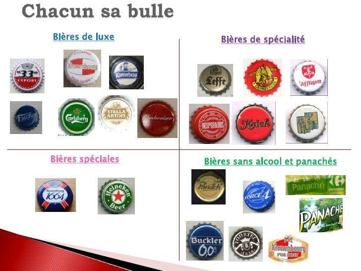Chacun sa bulle <br />Bières de luxe<br />Bières de spécialité<br />Bières spéciales<br />Bières sans alcool et panachés<b...