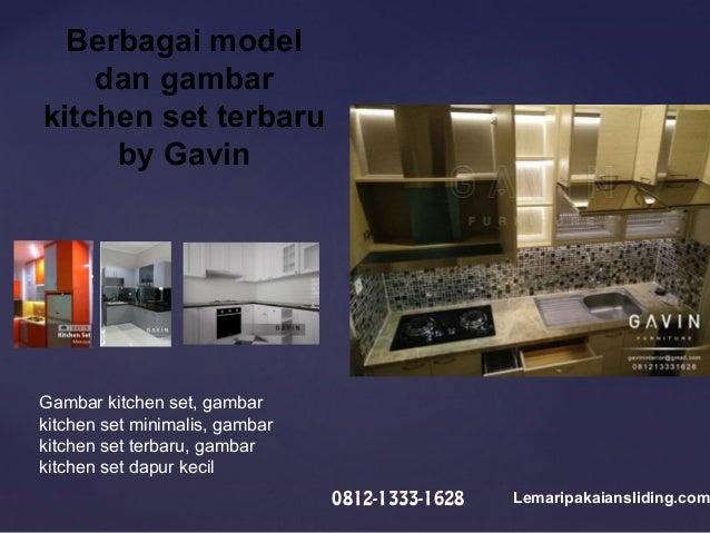 Kitchen Set Minimalis Modern Ukuran Custom