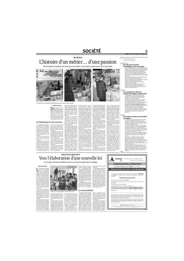 SOCIÉTÉ 9 LE MATIN • JEUDI-VENDREDI 20-21 MARS 2008 MOHAMED BADRANE D epuis la mort de son père, Hassan, la qua- rantaine,...