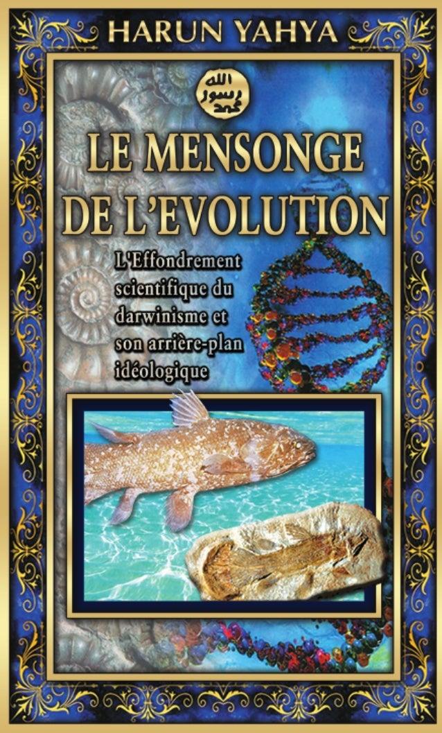 PPour certaines personnes, la théorie de l'évolution n'a que des connota- tions scientifiques. Ceci est bien évidemment un...
