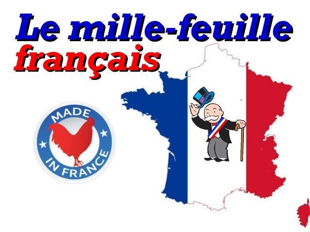 Le mille-feuilleLe mille-feuille françaisfrançais