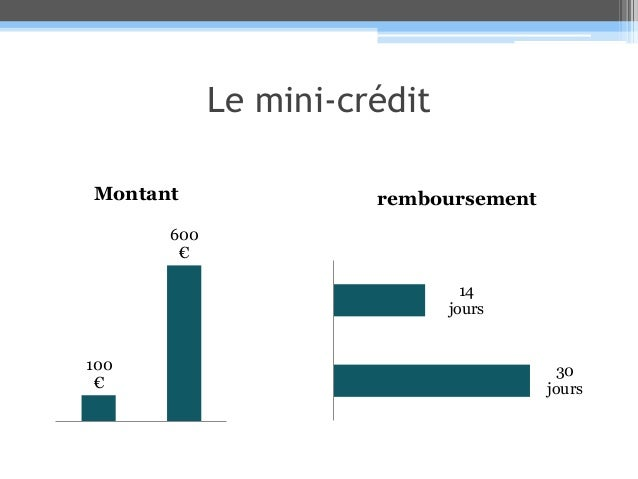 Le mini-crédit Slide 2