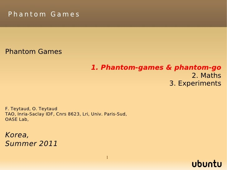 Phantom GamesPhantom Games                                      1. Phantom-games & phantom-go                             ...