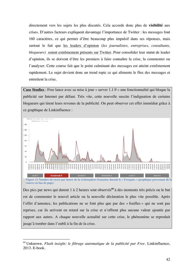 Mémoire sur la gestion de crise de l'e-réputation des entreprises @ULB