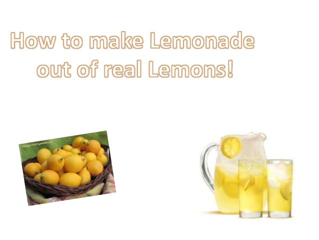 Lemonade Powerpoint