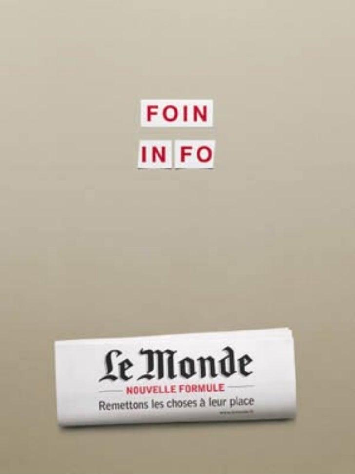 Rediseño de 'Le Monde'