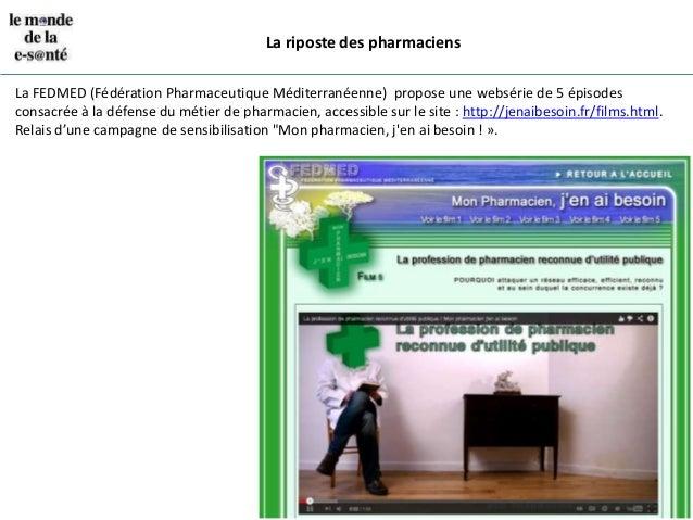 La révolution de la vente en ligne de médicaments slideshare - 웹