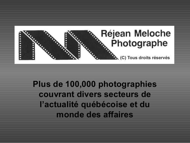 L'actualité québécoise en images (Banque de photos) Slide 2