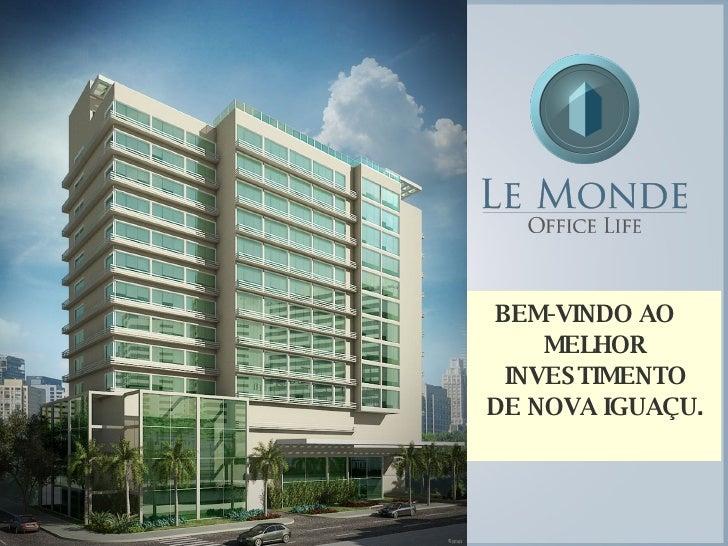 BEM-VINDO AO MELHOR INVESTIMENTO DE NOVA IGUAÇU.