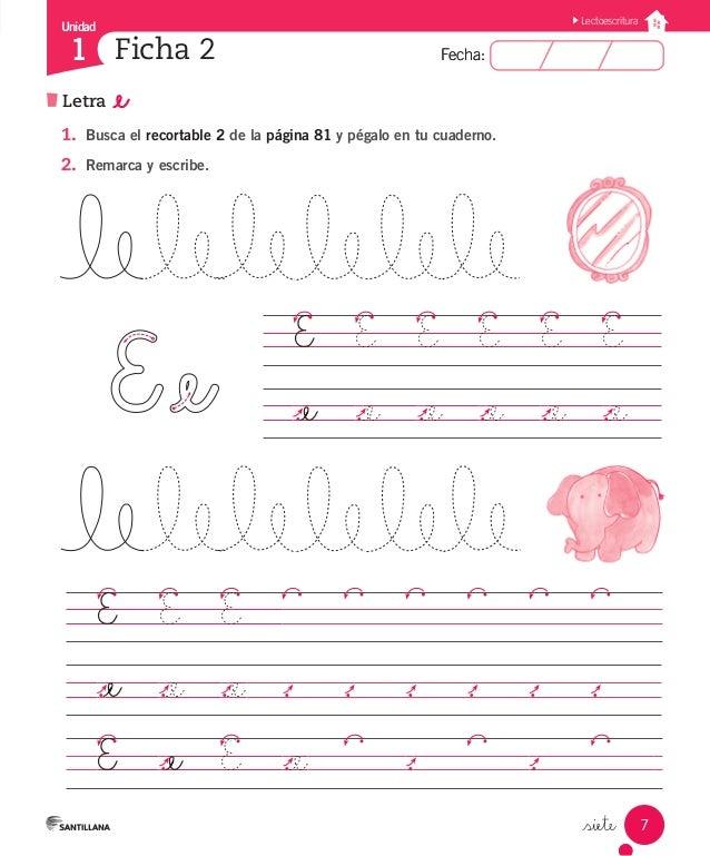 Cuaderno Actividades Lenguaje 1º