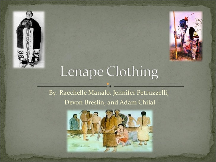 Lenape clothing by raechelle manalo jennifer petruzzelli devon breslin and adam chilal publicscrutiny Image collections