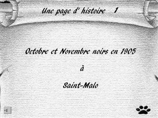 Le naufrage du hilda en 1905 à saint malo