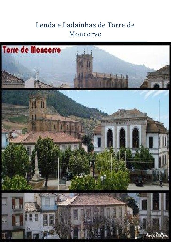 Lenda e Ladainhas de Torre de          Moncorvo