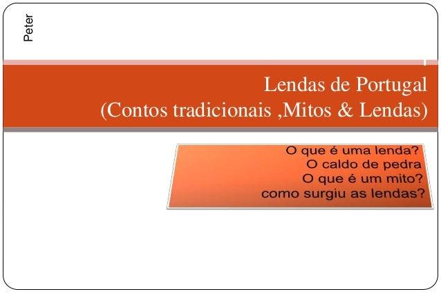 Peter                                            l                           Lendas de Portugal        (Contos tradicionai...