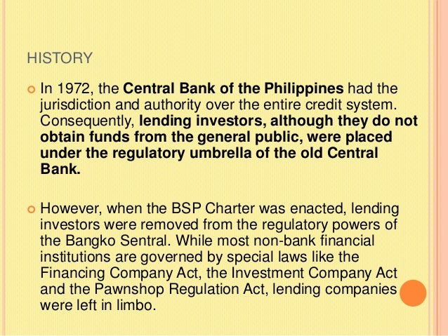 Lending Policy Of Banks In Philippines