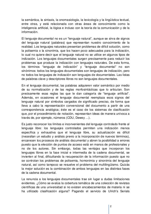 LENGUAJES DOCUMENTALES Slide 3