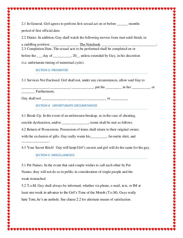 Marriage Commitment Contract