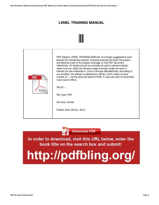 lenel training manual rh slideshare net Lenel Training Courses Lenel Training Database
