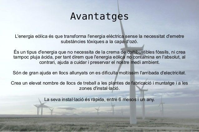 Lenergía eólica Slide 3