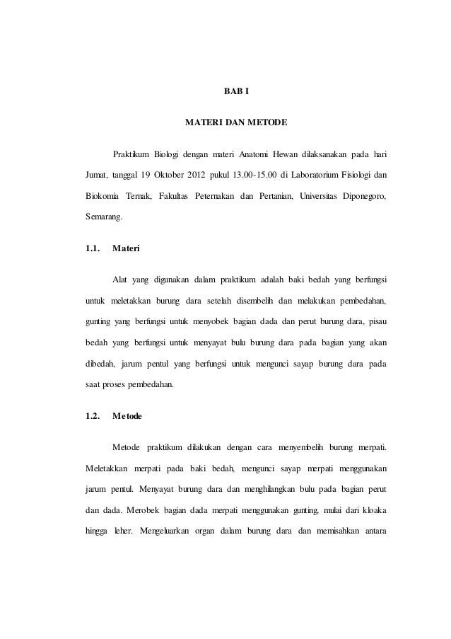 Laporan Praktikum Matakuliah Biologi Semester 1 Tahun 2012 Fpp Undip