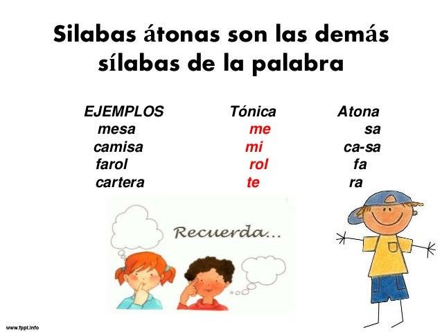 Lengua B3 Clases De Sílabas