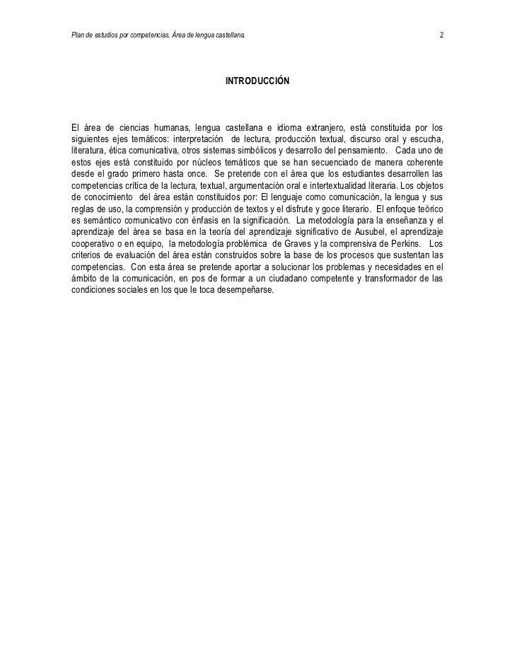 Lengua Castellana Slide 2