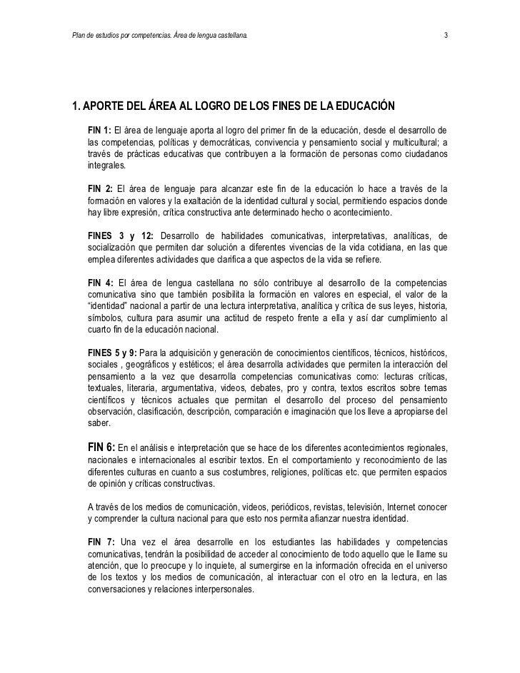 Lengua Castellana Slide 3