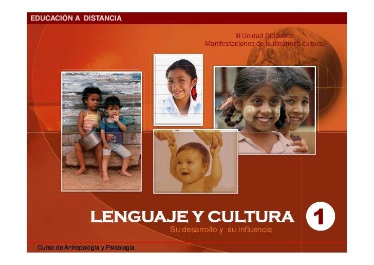 EDUCACIÓN A DISTANCIA                                                          III Unidad Didáctica                       ...