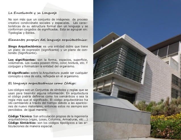 El lenguaje en la arquitectura contempor nea for Estilos de arquitectura contemporanea