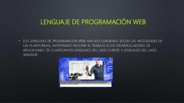 Lenguaje de programación web Slide 2