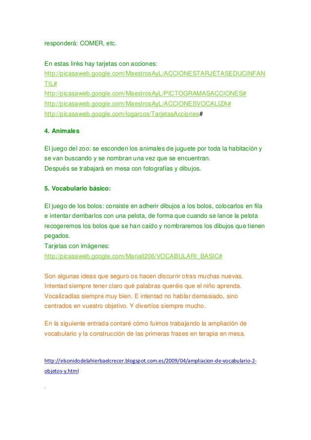 responderá: COMER, etc. En estas links hay tarjetas con acciones: http://picasaweb.google.com/MaestrosAyL/ACCIONESTARJETAS...