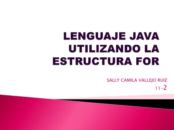 SALLY CAMILA VALLEJO RUIZ                   11-2