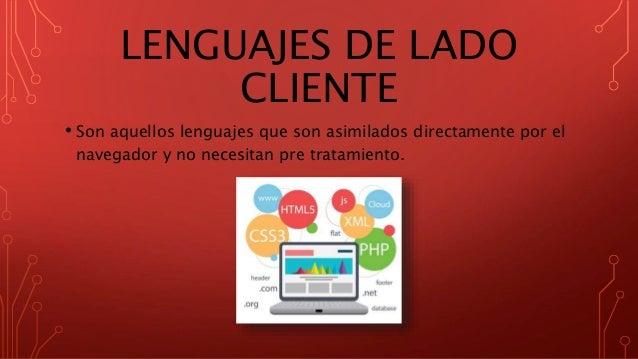 Lenguajes de programación web Slide 3
