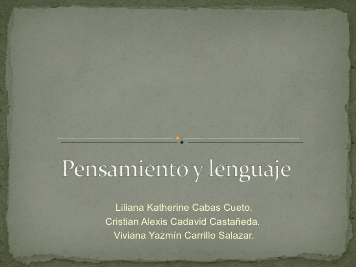 Liliana Katherine Cabas Cueto. Cristian Alexis Cadavid Castañeda.  Viviana Yazmín Carrillo Salazar.